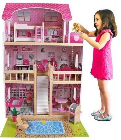 Drewniany domek dla lalek Tima