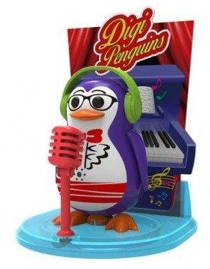 Dumel DigiPenguins Pingwiny ze sceną tańczy śpiewa