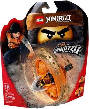 LEGO NINJAGO 70637 Cole - mistrz Spinjitzu