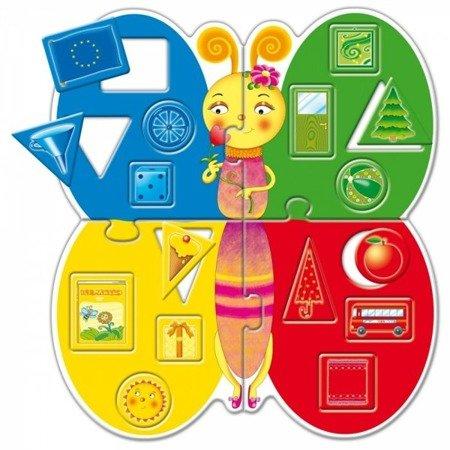 Lisciani: Karotka Ślimak kształty i kolory
