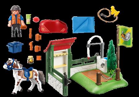 Playmobil (6929) Myjnia dla koni