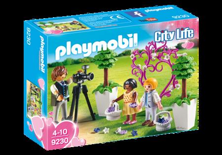 Playmobil Fotograf i dzieci z kwiatkami