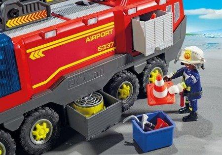 Playmobil Pojazd strażacki na lotnisku ze światłem