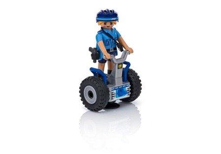Playmobil Policjantka na Balance-Racer