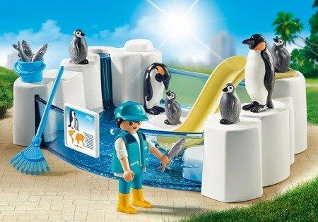Playmobil zestaw Basen dla pingwinów figurki