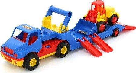 Polesie Wader Ciężarówka ConsTruck + ładowarka Bazik