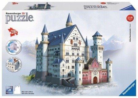 Ravensburger Puzzle 3D Zamek Neuschwanstein