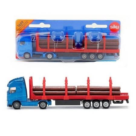 Siku 1659: Ciężarówka do transportu drewna