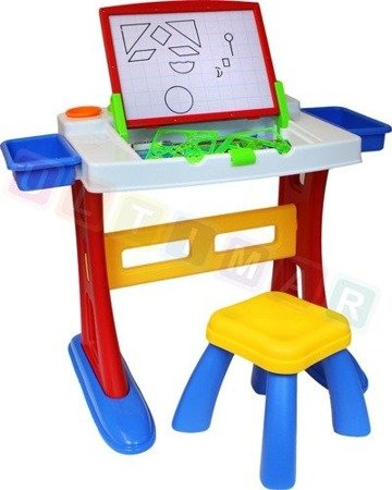 Stolik edukacyjny - podwójna tablica