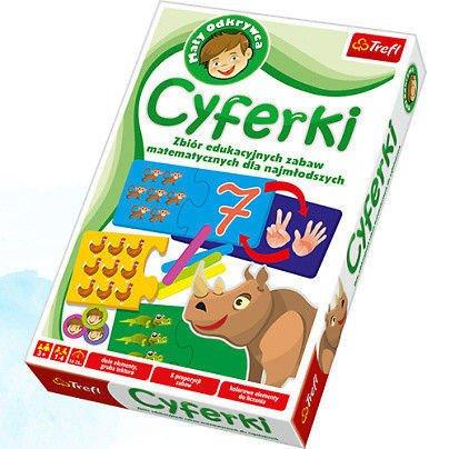 Trefl 01059: Gra edukacyjna - Cyferki