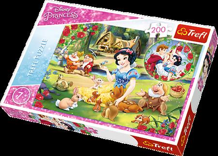 Trefl (13204) Puzzle 200 el Marzenie o miłości