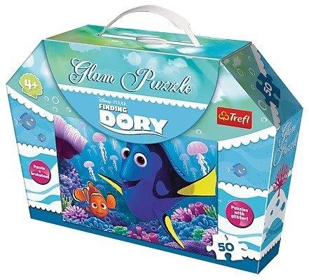 Trefl 14813: Puzzle 50 el. Glam - Dory wśród meduz