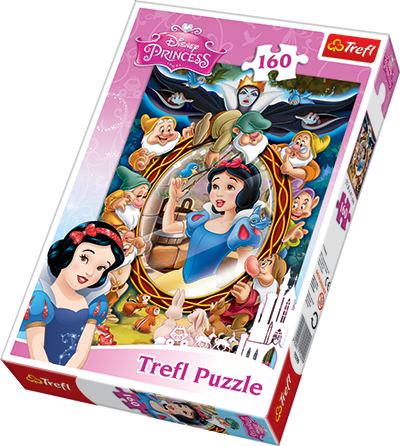 Trefl (15299): Puzzle 160 el. Królewna Śnieżka