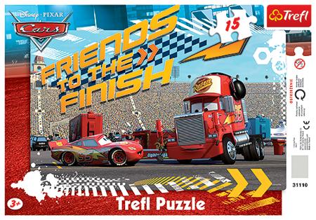 Trefl (31110): Puzzle ramkowe 15 el. Zygzak i Marian
