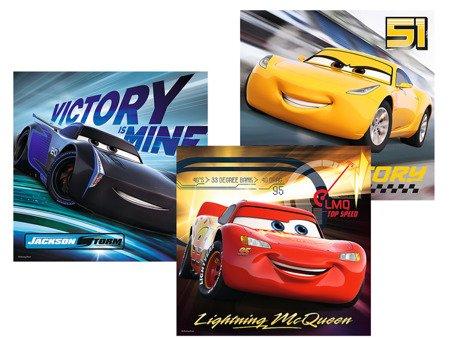 Trefl (34820): Puzzle 3w1: Legendy wyścigu, Cars 3