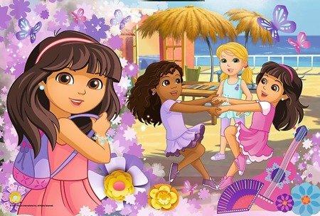 Trefl Puzzle Taniec i muzyka, Dora i przyjaciele