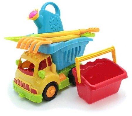 Ultimar: Ciężarówka z ruchomym kiprem + narzędzia ogrodnicze