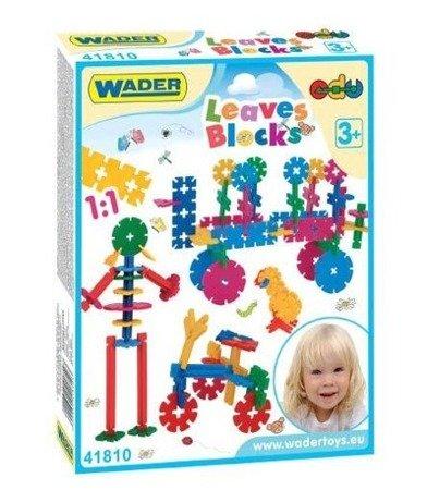 Wader (41810): Klocki Leaves Blocks Listki, 200 el.