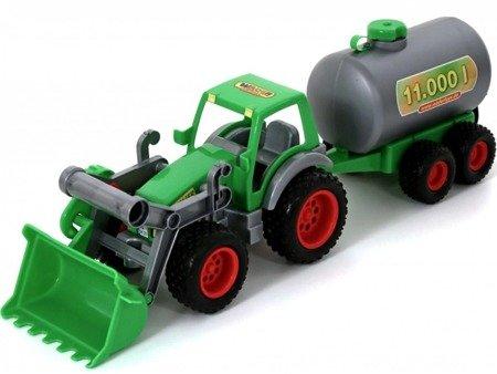 Wader  Farmer Technik Traktor ładowarka z cysterną