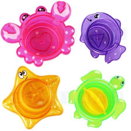 Zabawka do kąpieli: termometr krab + foremki
