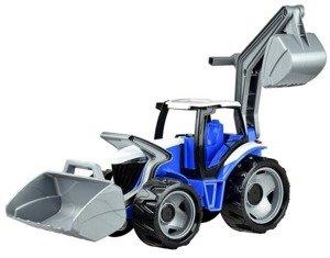 Lena 02081: Traktor, koparka czerwona